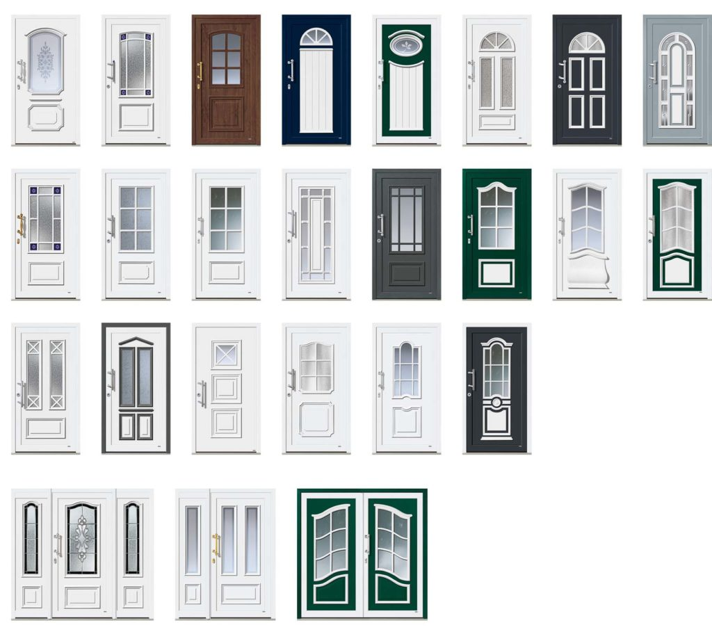 Kunststoffhaustüren
