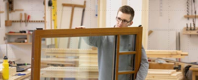 Tischler in Bremen fertigt Holzfenster